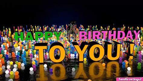 3d Animation Birthday Card. Free Happy Birthday eCards