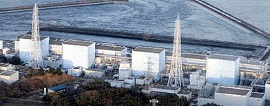 Fukushima Daiichi power plant's Unit 1 is seen in Okumamachi, Fukushima prefecture, Japan, Friday, March 11, 2011. The nuclear power plant affected by a massive earthquake is facing a possible meltdown, an official with Japan's nuclear safety commission said Saturday. (AP Photo/The Yomiuri Shimbun, Yasushi Kanno)