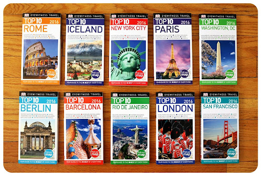 Confession: I can't travel without a guidebook! (+guidebook giveaway)