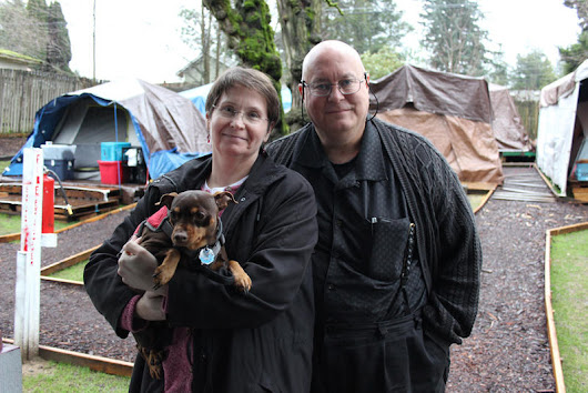 This Shoreline Couple Lets Homeless Families Camp In Their Yard
