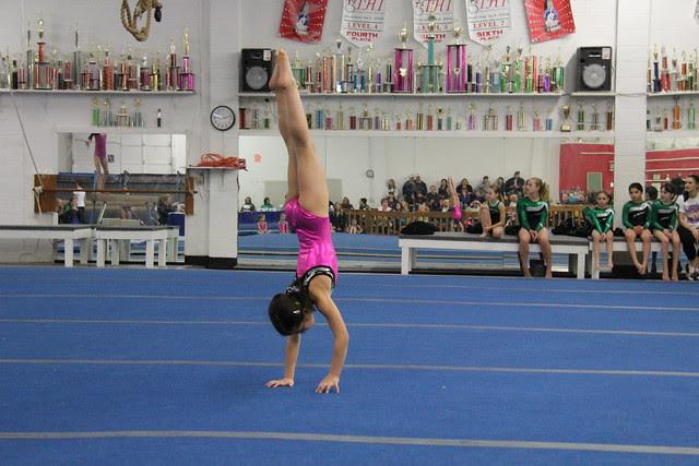 Handstand Floor Exercise