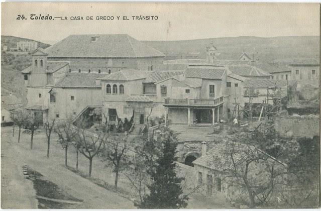Sinagoga del Tránsito a inicios del siglo XX