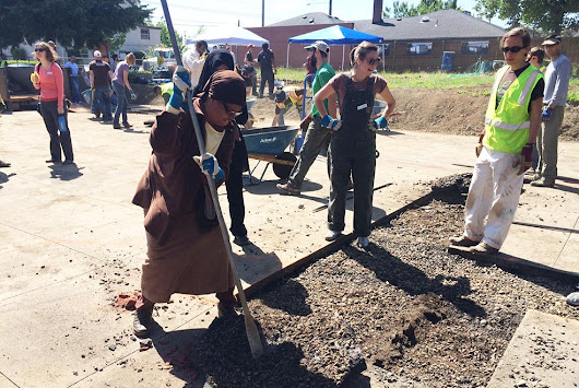 Depave Breaks Down Cultural Barriers As Well As Asphalt Paving - Blooming Rock
