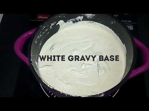 White gravy base for North indian curries
