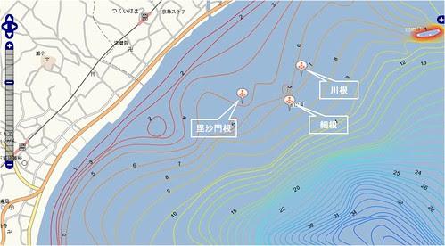 釣りポイント(三浦半島、津久井浜)2