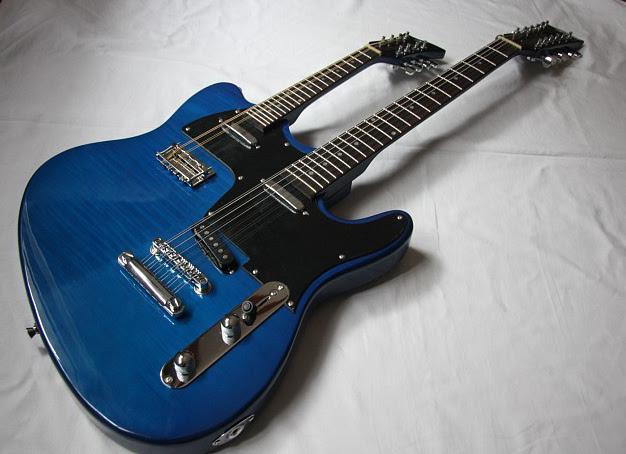 double neck mandolin / 12-string guitar