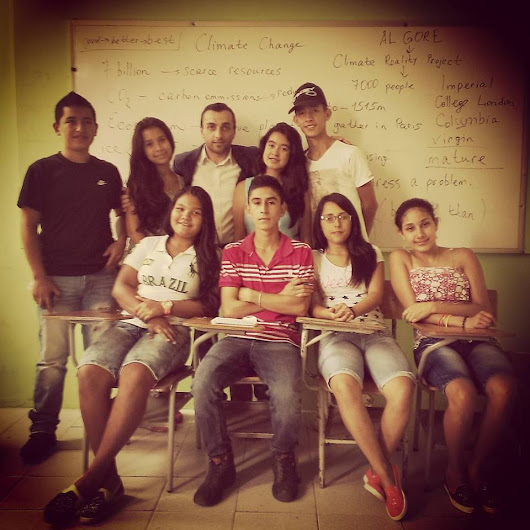 A dream come true - a story by Vahram Ayvazyan about his experience with Nukanti´s bilingualism program in Risaralda