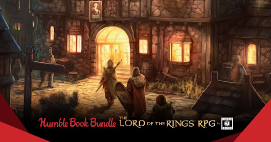 Humble RPG Bundle: The Lord of the Rings by Cubicle 7