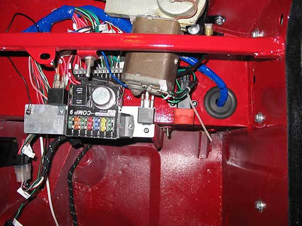 Rewiring the MGB, by Jeff Howell