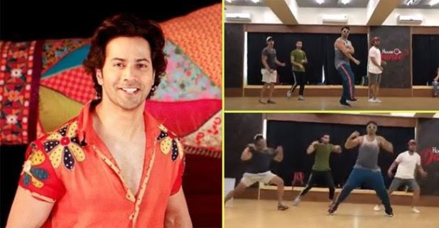Varun Dhawan Took Just Only 17 Seconds To Complete A Dance Sequence