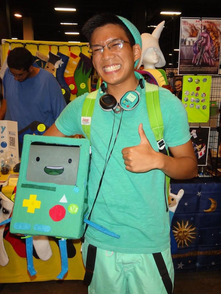 Boston Comic Con 2013 Adventure Time BMO