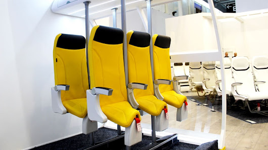 The Airplane Saddle Is A Standing Seat For Super-Economy Flights