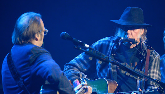 "Watch Neil Young, Stephen Stills Perform ""For What It's Worth"" Together 