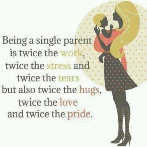 Being A Single Parent Quotes