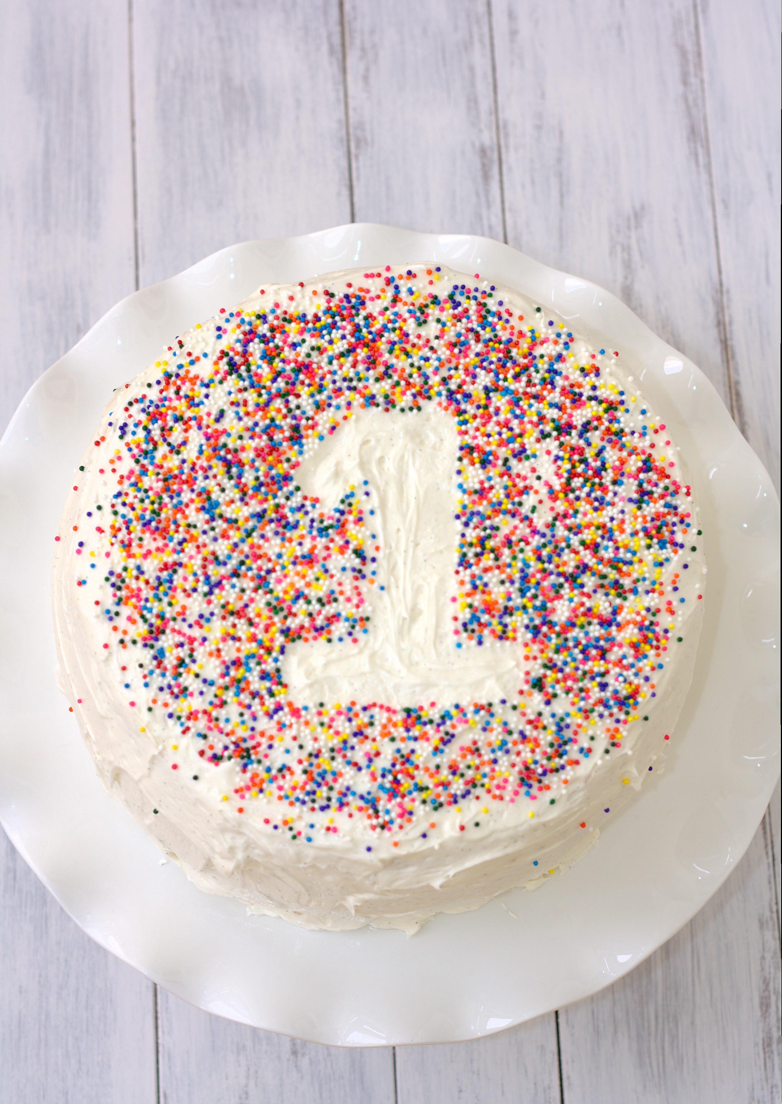 Easy Birthday Cake Recipe Vanilla