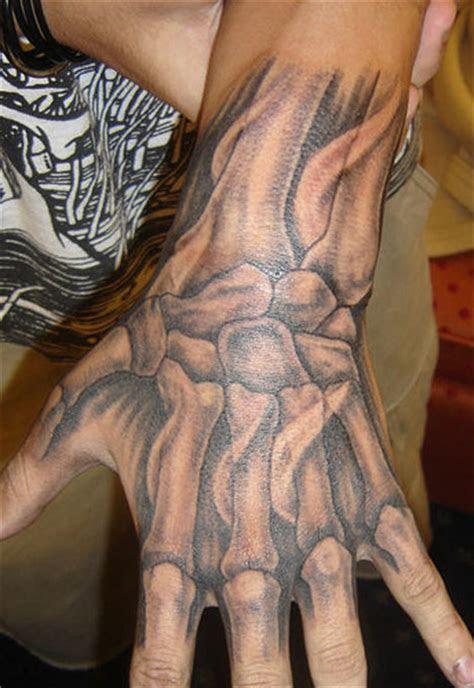 bones hand tattoo tattoo loaders tattoo designs