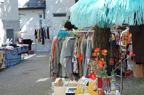 Hofflohmarkt nel cortile di casa tua