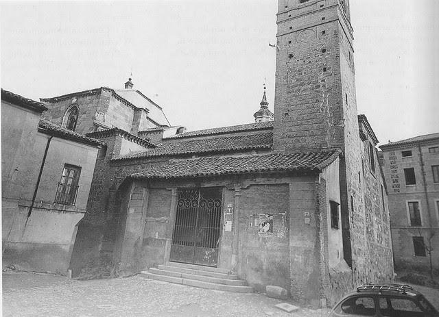 Iglesia de San Andrés antes de las restauraciones de 1975