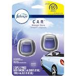 Febreze Car Odor-Eliminating Air Freshener Vent Clips - Midnight Storm - 2ct