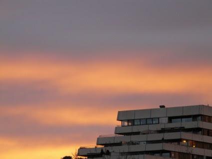 Matahari Terbenam Langit Mewarnai Langit Gratis Foto Download Gratis