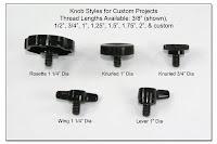 PJ1028: Knob Styles for Custom Projects