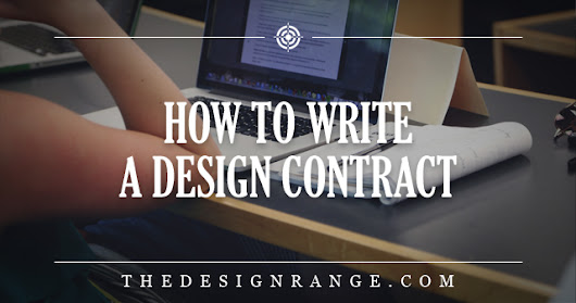 How to Write a Design Contract