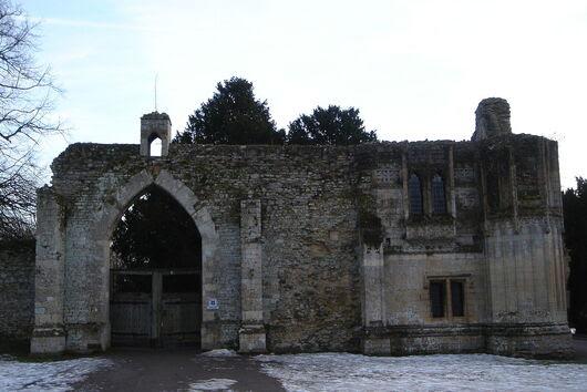 Des ruines de pierre