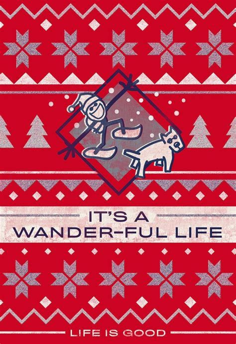 Life is Good® It's a Wander Ful Life Christmas Card