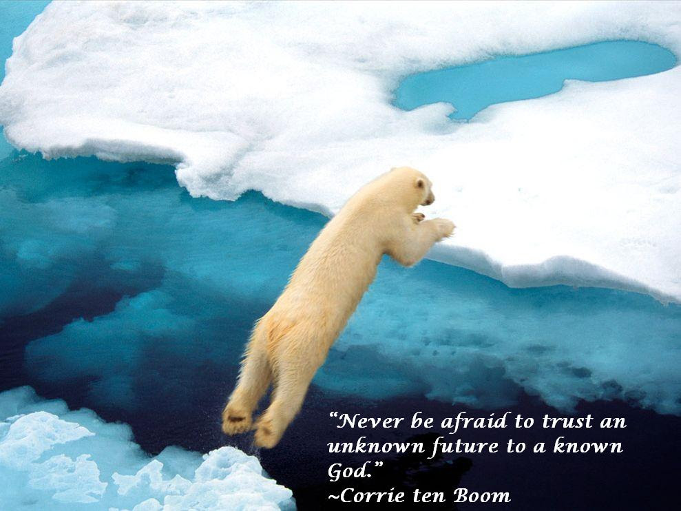 Corrie Ten Boom Quote About Fear And Trusting God Awesome Quotes