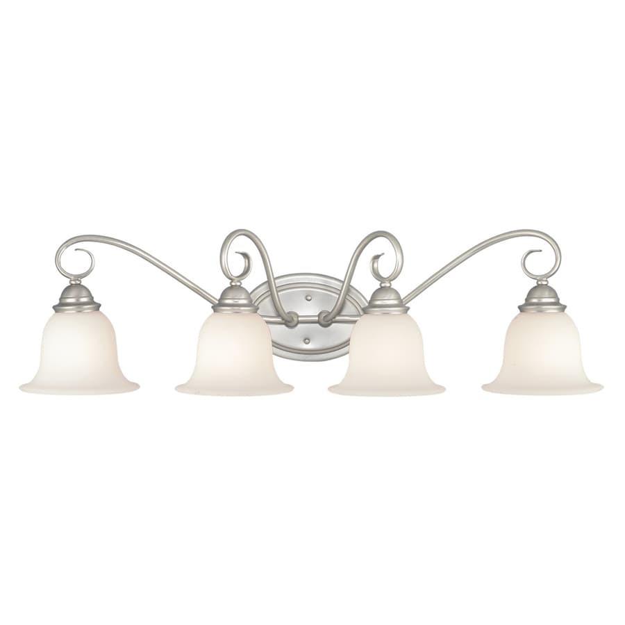 Shop Cascadia Lighting 4-Light Picasso Brushed Nickel ...