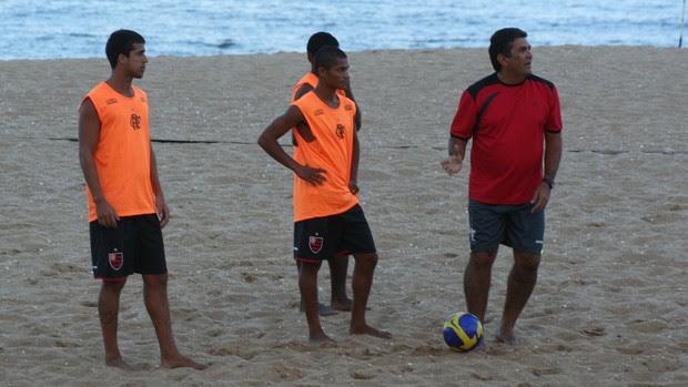 Andrey Valério Flamengo futebol de areia (Foto: Divulgação)