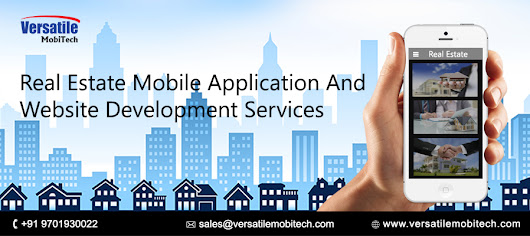 Best real estate mobile application and website development services