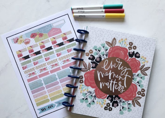 Make Your Own Planner Stickers With Cricut Explore - Brooklyn Berry Designs