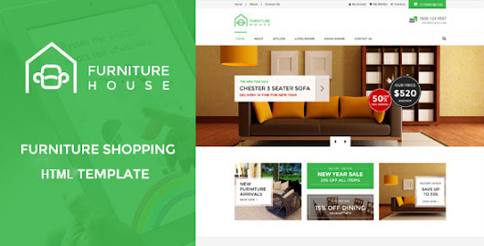 Download Furniture House - eCommerce Shop HTML Template nulled | OXO-NULLED