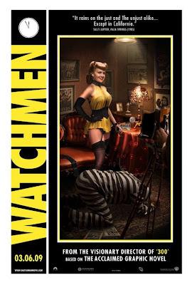 Watchmen Character Movie Posters - Carla Gugino as Sally Jupiter / Silk Spectre I