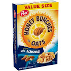 Post Honey Bunches of Oats Cereal, With Crispy Almonds - 28 oz box