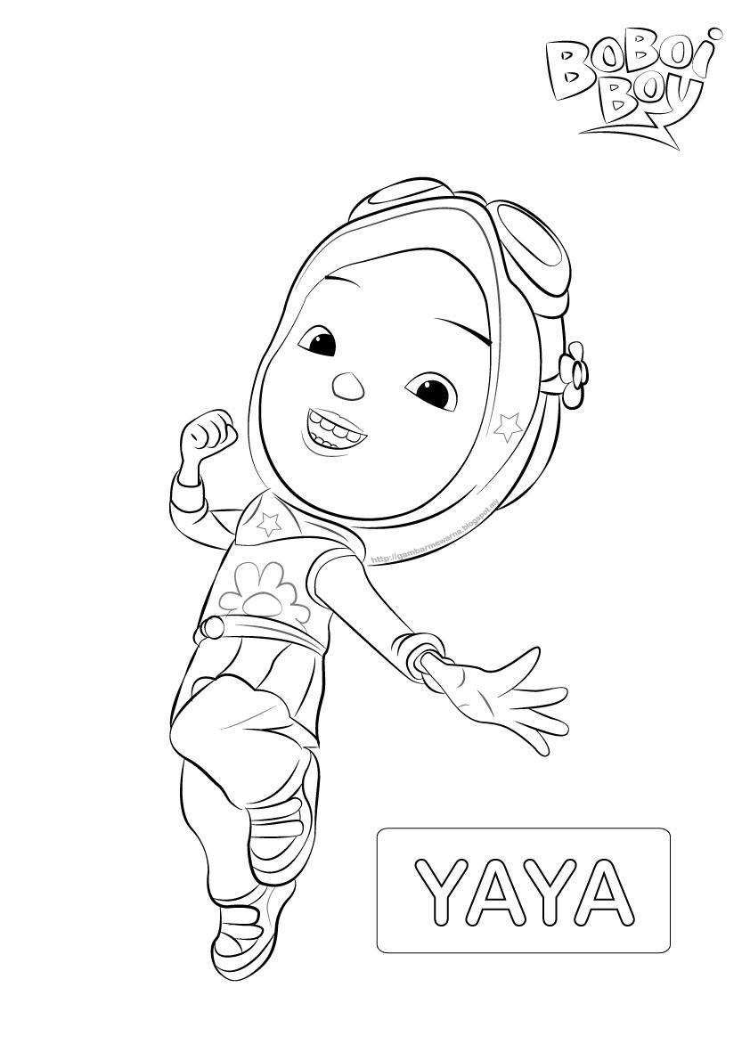 Gambar Mewarnai Boboiboy Galaxy : gambar, mewarnai, boboiboy, galaxy, Boboiboy, Blaze, Coloring, Pages, AnyOneForAnyaTeam