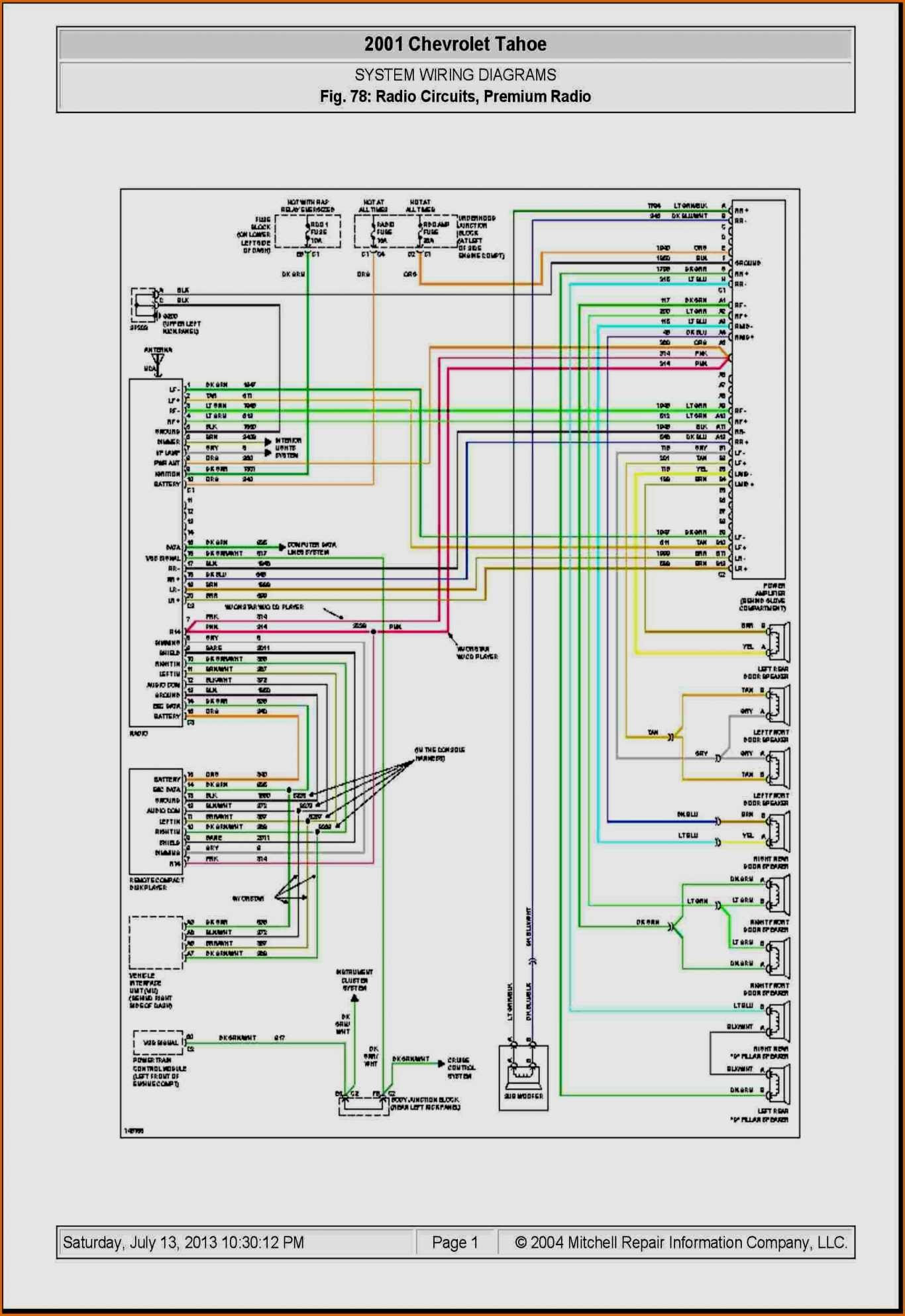 2014 Gmc Radio Wiring Diagram