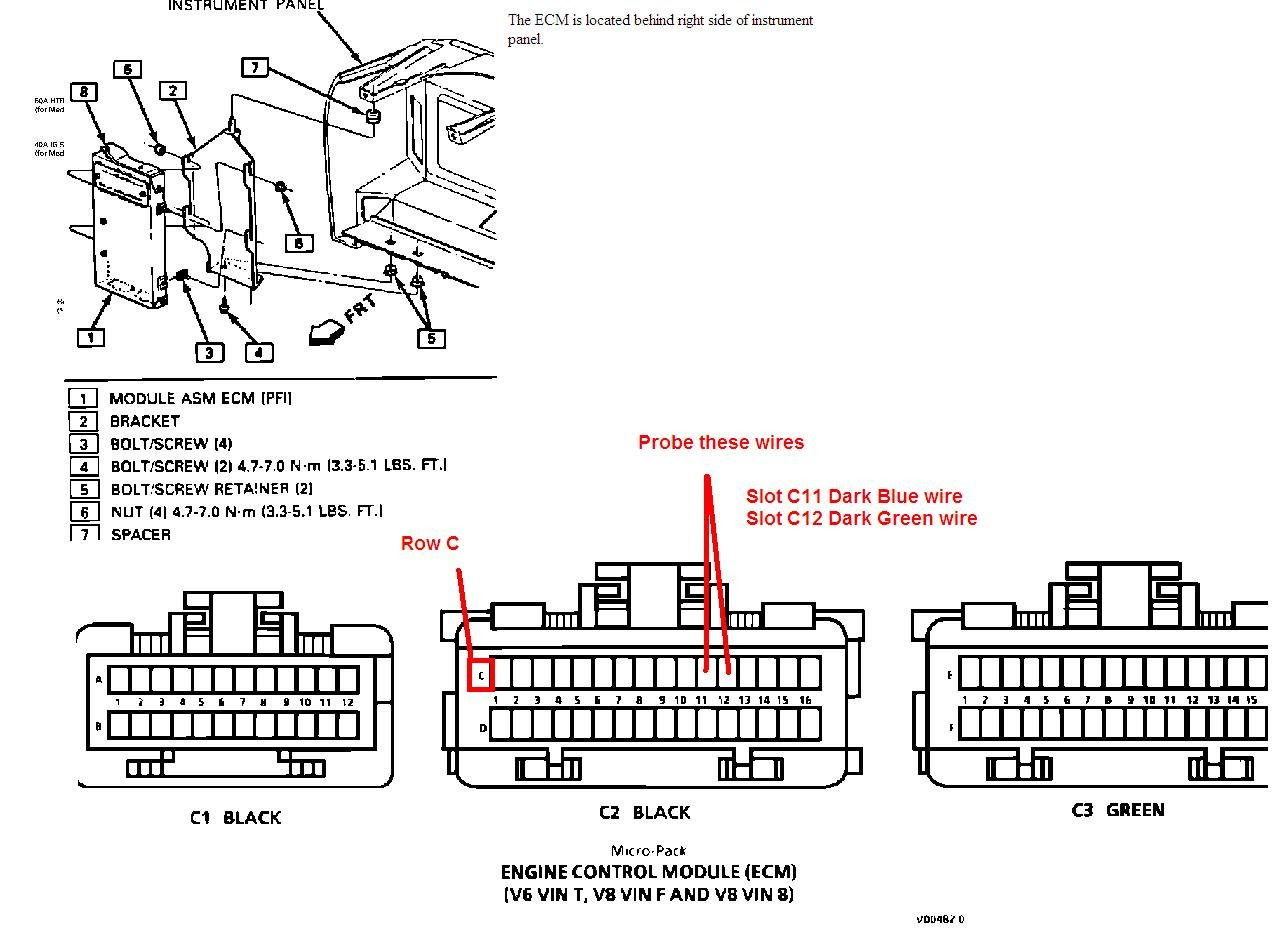 36e8e6 92 Pontiac Firebird Fuse Box Wiring Resources
