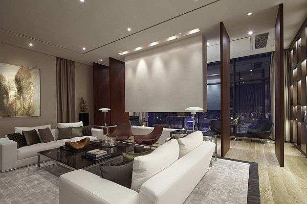 A modern penthouse which offers a modern lifestyle with luxury and