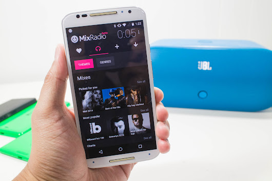 MixRadio leaves beta, brings the noise to the Google Play Store for the first time