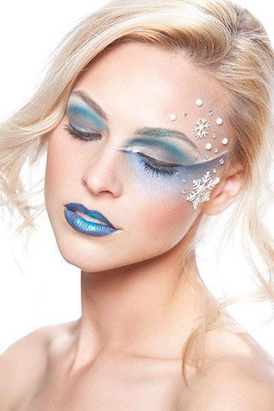 15+ Winter Themed Fantasy Makeup Looks & Ideas 2016 ...