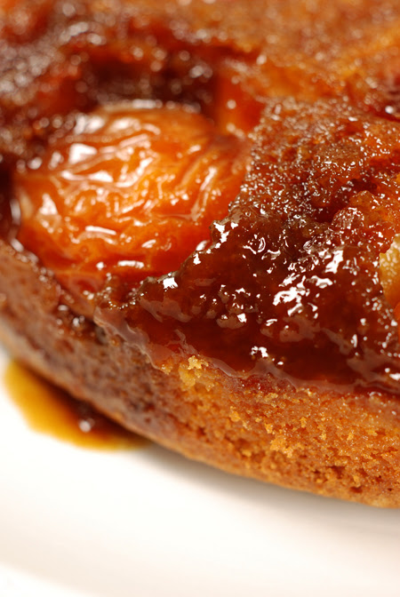 Apricot Upside-down Cake© by Haalo