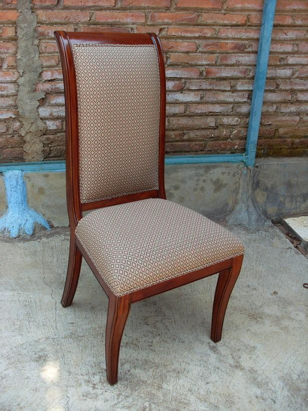 Upholstered Dining Room Chairs | Regency | Solid Mahogany Dining ...