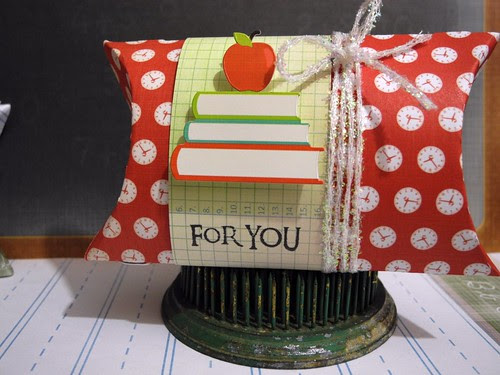 For You Teacher Pillow Box
