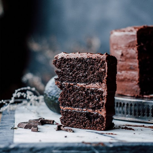 Chocolate Avocado Layer Cake