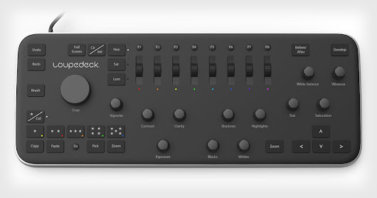 Loupedeck is a New Console for Photo Editing in Lightroom