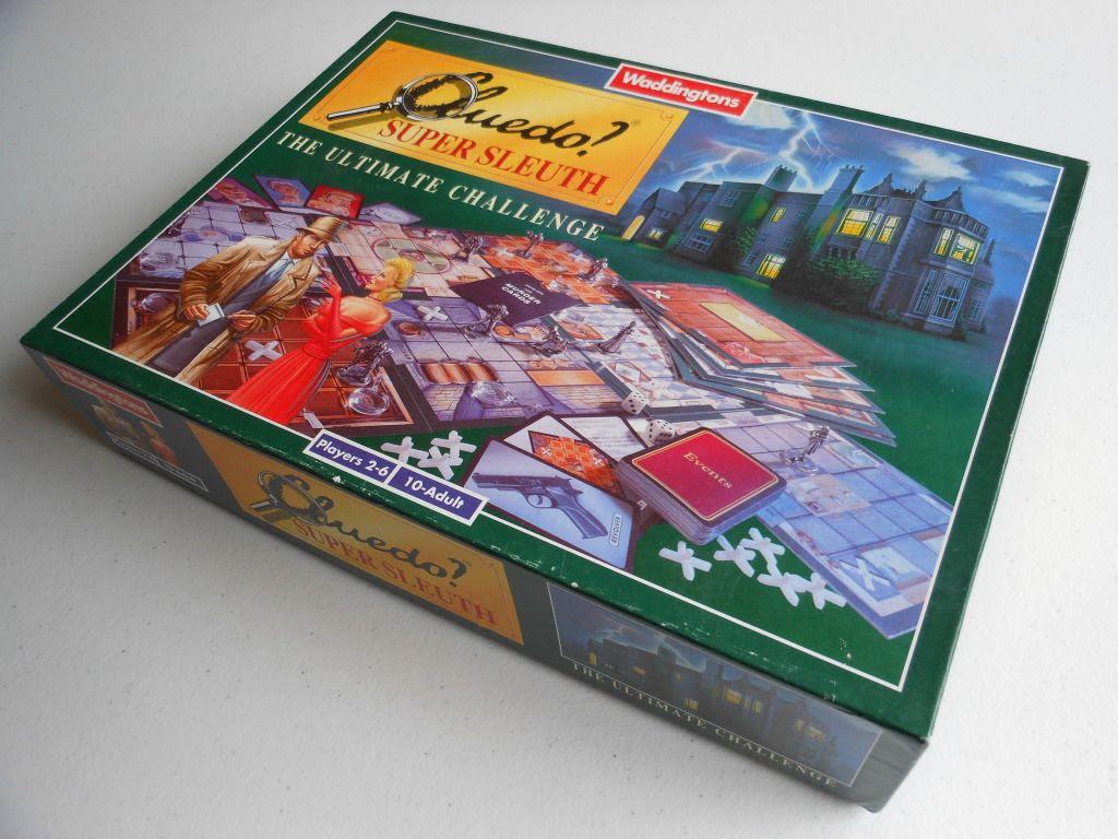 Cluedo Super Sleuth box