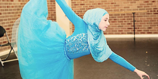 Teenager Stephanie Kurlow Dreams Of Becoming The World's First Hijab-Wearing Ballerina