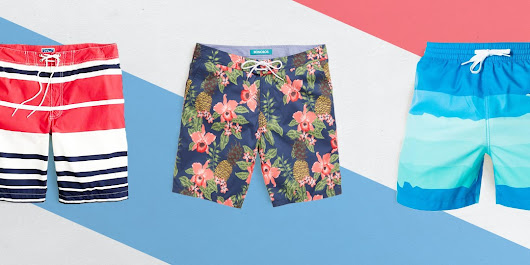The Key To Picking The Right Swim Trunks For Your Body Type